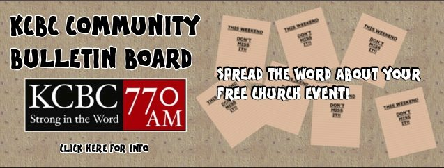 Community Bulletin Board KCBC