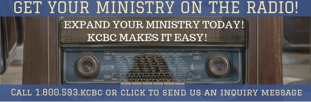 Get Your Ministry On The Radio