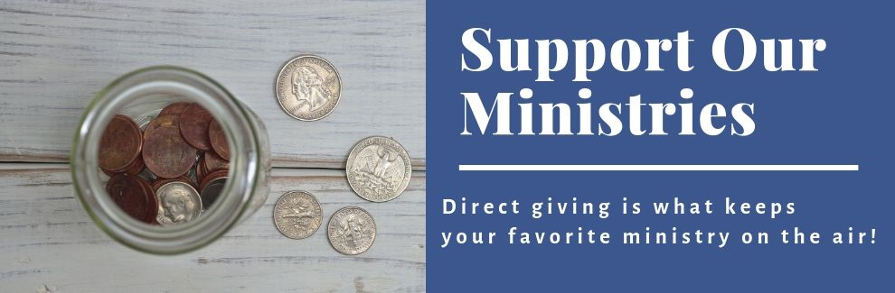 Support Your Favorite Ministries